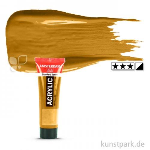 Talens AMSTERDAM Acrylfarben 20 ml Tube | 231 Goldocker