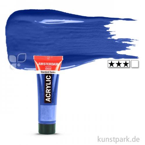Talens AMSTERDAM Acrylfarben 20 ml Tube | 504 Ultramarin