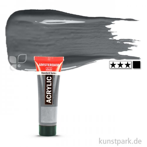 Talens AMSTERDAM Acrylfarben 20 ml Tube   710 Neutralgrau