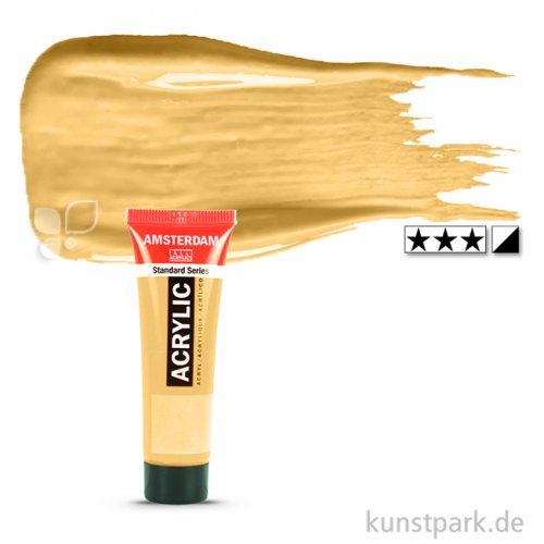 Talens AMSTERDAM Acrylfarben 20 ml Tube | 802 Reichgold
