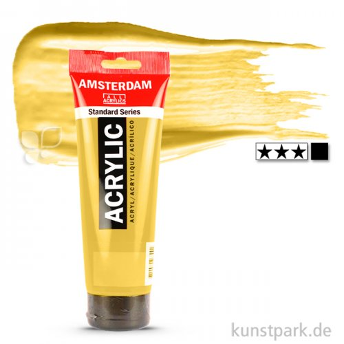 Talens AMSTERDAM Acrylfarben 250 ml Tube   223 Neapelgelb dunkel