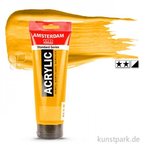 Talens AMSTERDAM Acrylfarben 250 ml Tube | 270 Azogelb dunkel