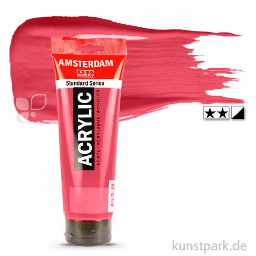Talens AMSTERDAM Acrylfarben 250 ml Tube   318 Karmin