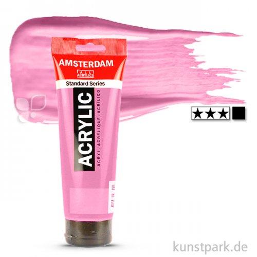 Talens AMSTERDAM Acrylfarben 250 ml Tube | 385 Chinacridonrosa hell