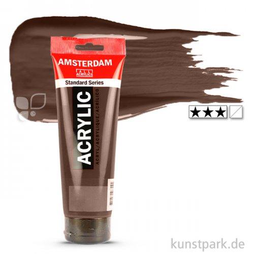 Talens AMSTERDAM Acrylfarben 250 ml Tube | 409 Umbra gebrannt