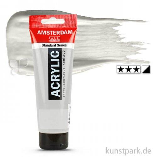 Talens AMSTERDAM Acrylfarben 250 ml Tube | 800 Silber