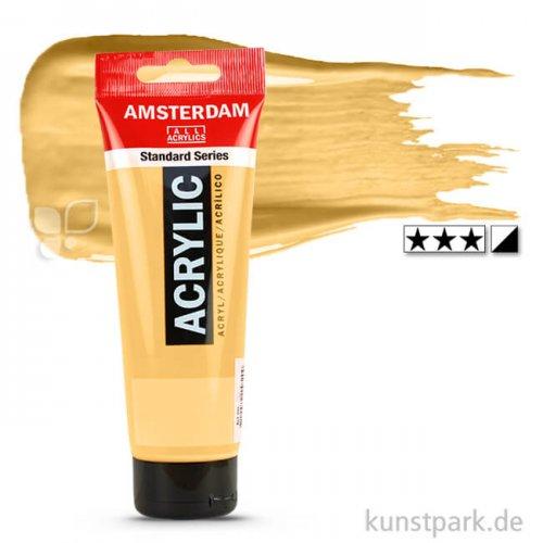 Talens AMSTERDAM Acrylfarben 250 ml Tube | 802 Reichgold