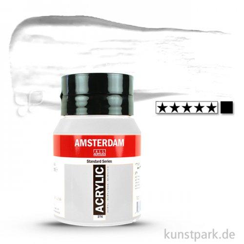 Talens AMSTERDAM Acrylfarben 500 ml Flasche   105 Titanweiß