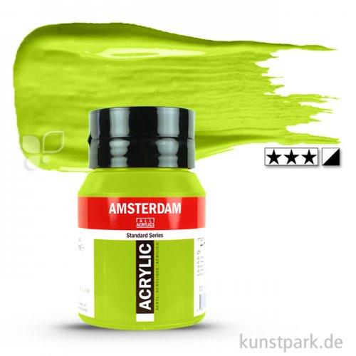 Talens AMSTERDAM Acrylfarben 500 ml Flasche | 243 Grüngelb