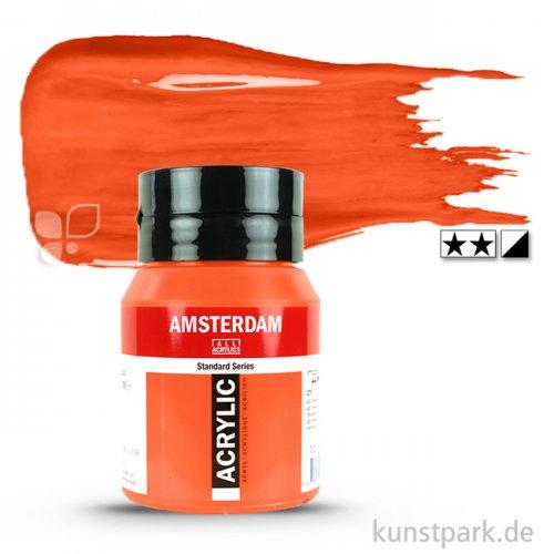 Talens AMSTERDAM Acrylfarben 500 ml Flasche | 311 Zinnober