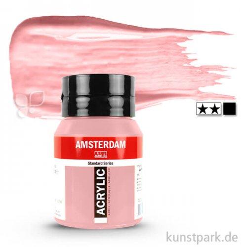Talens AMSTERDAM Acrylfarben 500 ml Flasche | 316 Venezianischrosa