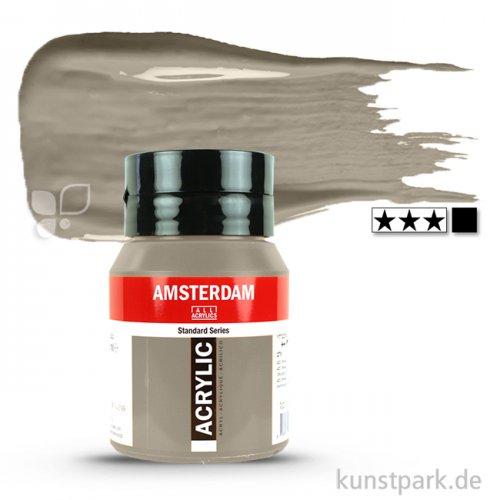 Talens AMSTERDAM Acrylfarben 500 ml Flasche | 718 Warmgrau