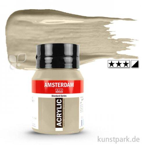 Talens AMSTERDAM Acrylfarben 500 ml Flasche   815 Zinn