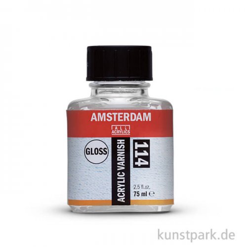 Talens AMSTERDAM Acrylfirnis glänzend 75 ml