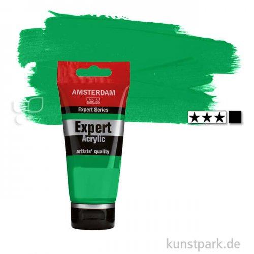 Talens AMSTERDAM Expert Acrylfarben 75 ml Einzelfarbe | 618 Permanentgrün hell