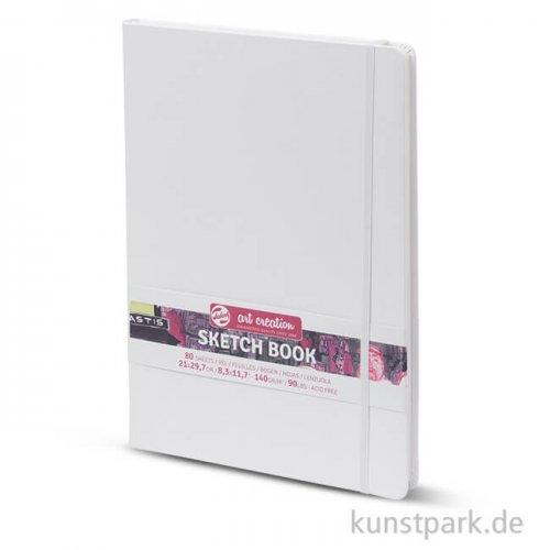 Talens Art Creation - Skizzenbuch Weiß, 80 Blatt, 140g 21 x 29,7 cm