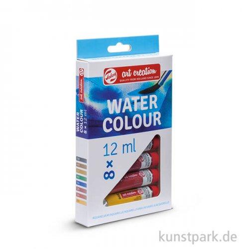 Talens Art Creation Aquarellfarben Set mit 8 Tuben 12 ml