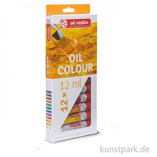 Talens Art Creation Ölfarben Set mit 12 Tuben 12 ml