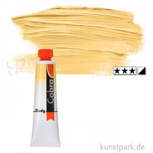 Talens COBRA Study wasservermalbare Ölfarbe 40 ml | 223 Neapelgelb dkl.