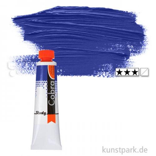 Talens COBRA Study wasservermalbare Ölfarbe 40 ml | 504 Ultramarin
