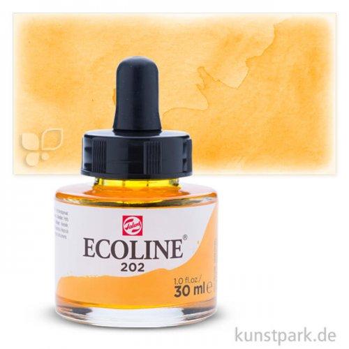 Talens ECOLINE 30 ml | 202 Dunkelgelb
