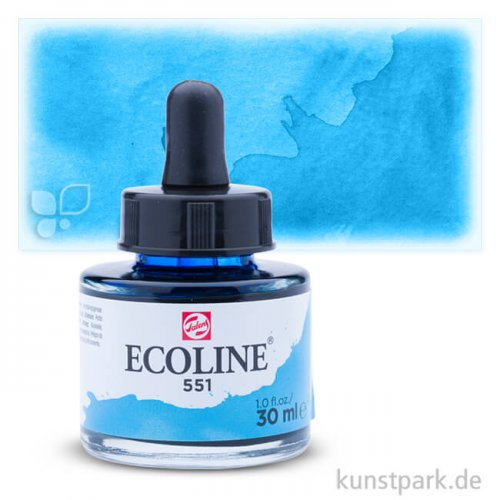 Talens ECOLINE 30 ml | 551 Himmelblau Hell