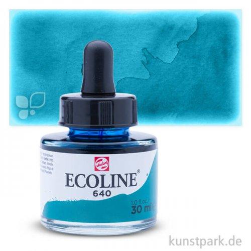 Talens ECOLINE 30 ml | 640 Blaugrün