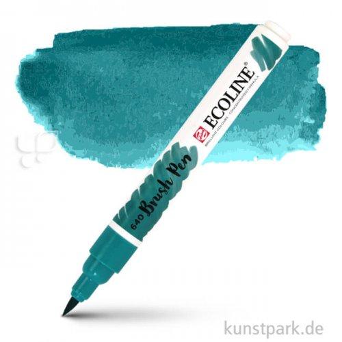 Talens ECOLINE Brushpen Brush   Blaugrün