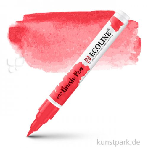Talens ECOLINE Brushpen Brush | Scharlach