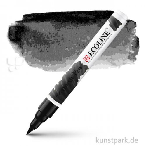 Talens ECOLINE Brushpen Brush   Schwarz