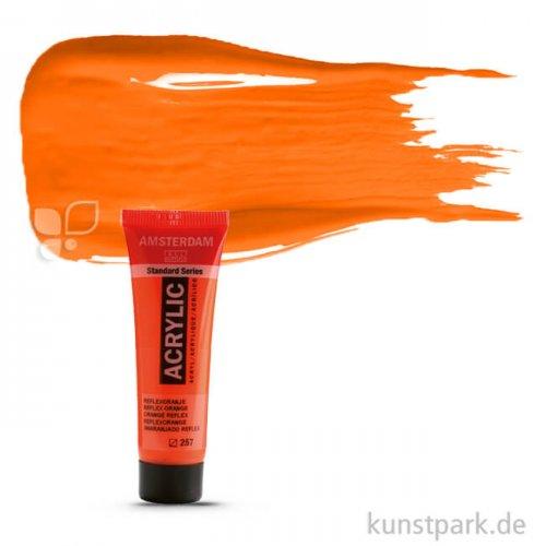 Talens AMSTERDAM Neon Reflexfarbe 20 ml | Orange