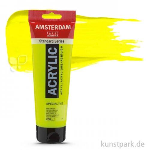 Talens AMSTERDAM Neon Reflexfarbe 250 ml | Gelb
