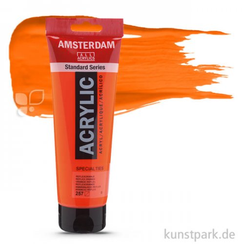 Talens AMSTERDAM Neon Reflexfarbe 250 ml | Orange