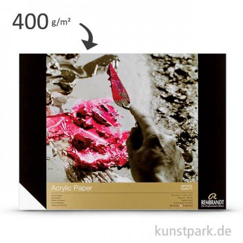 Talens REMBRANDT Acrylmalpapier, 10 Blatt, 400 g