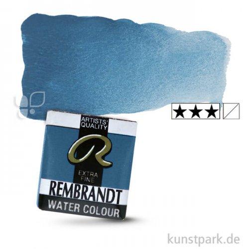Talens REMBRANDT Aquarellfarben 1/2 Näpfchen   550 Cölinblau Dunkel