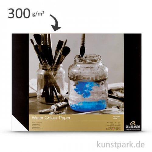 Talens REMBRANDT Aquarellpapier, 20 Blatt, 300 g 30 x 40 cm