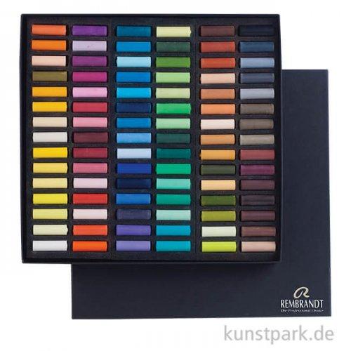Talens REMBRANDT Pastell Professional 90 halbe Stifte im Karton