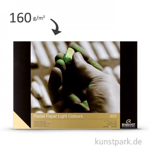 Talens REMBRANDT Pastellpapier, 30 Blatt, 160 g