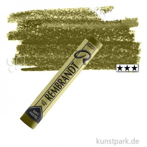 Talens REMBRANDT Soft-Pastell Einzelpastell | 620 Olivgrün 3