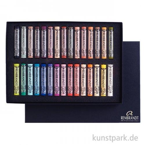 Talens REMBRANDT Pastell -  Porträt-Auswahl Basis-Set mit 30 Pastellen