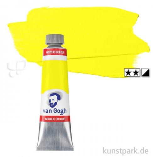 Talens VAN GOGH Acrylfarben 40 ml 40 ml Tube | 267 Azogelb zitron