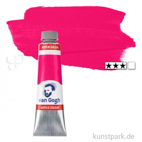 Talens VAN GOGH Acrylfarben 40 ml Tube   366 Chinacridonrosa