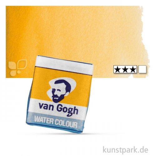 Talens VAN GOGH Aquarellfarben 1/2 Napf | 227 gelber Ocker