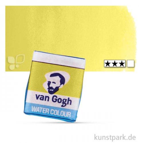 Talens VAN GOGH Aquarellfarben 1/2 Napf | 254 Permanent Zitron gelb