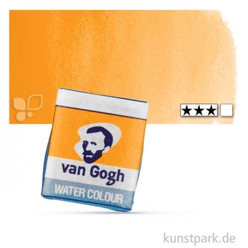 Talens VAN GOGH Aquarellfarben 1/2 Napf | 266 Permanent Orange
