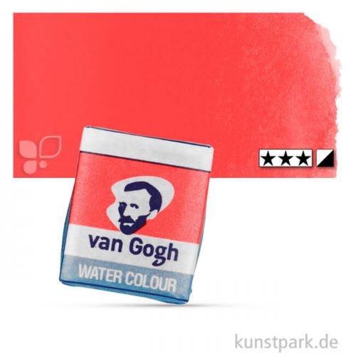 Talens VAN GOGH Aquarellfarben 1/2 Napf | 370 Permanentrot hell