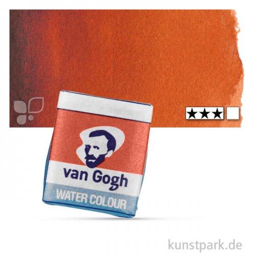 Talens VAN GOGH Aquarellfarben 1/2 Napf | 411 Siena gebrannt