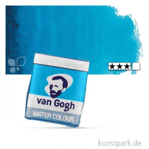 Talens VAN GOGH Aquarellfarben 1/2 Napf | 522 Türkisblau