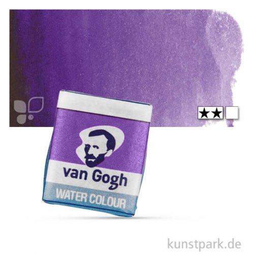 Talens VAN GOGH Aquarellfarben 1/2 Napf | 568 Permanentblauviolett