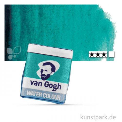 Talens VAN GOGH Aquarellfarben 1/2 Napf | 675 Phtalogrün